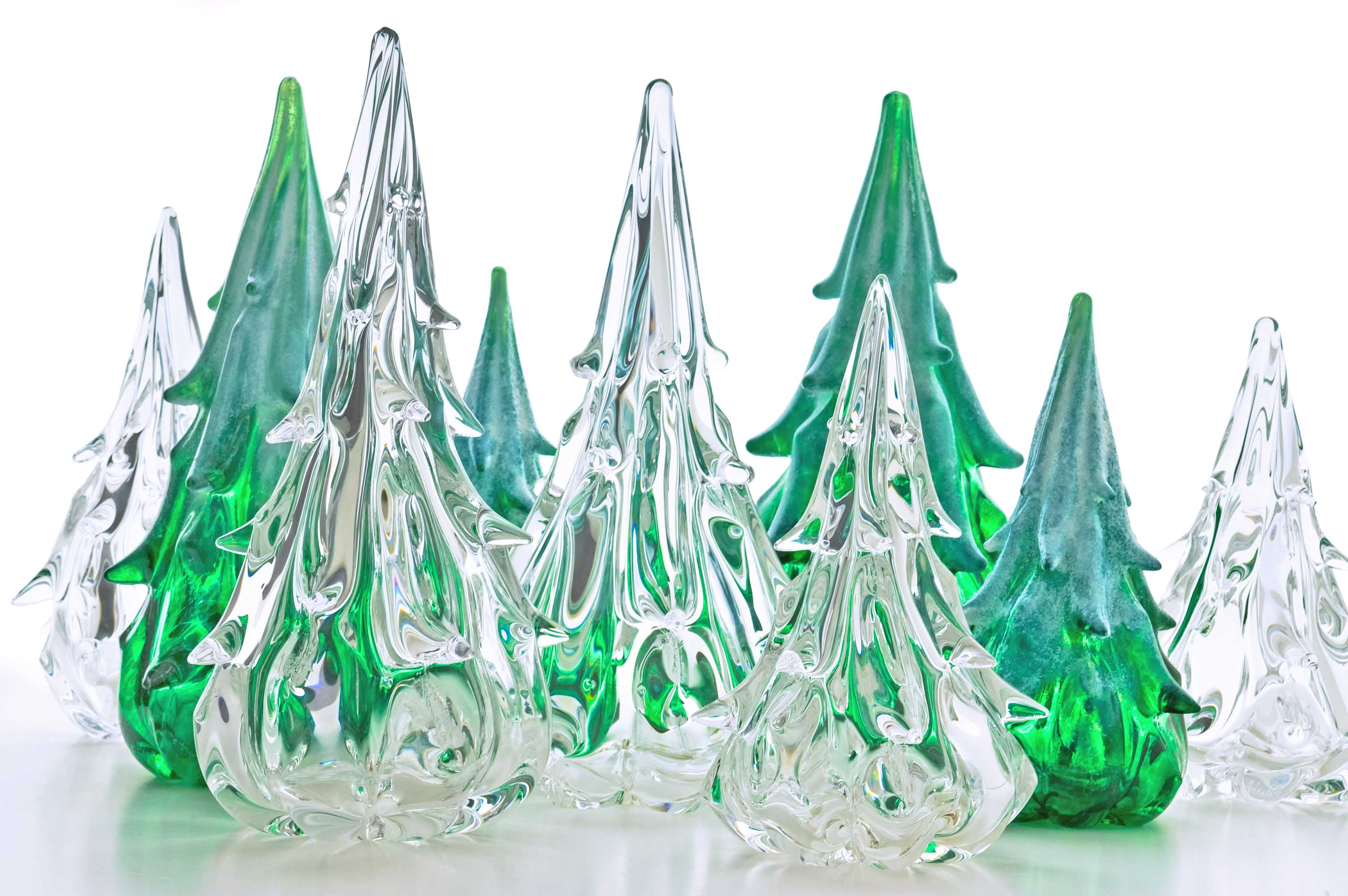Green envy the newport stylephile for Small designer christmas trees
