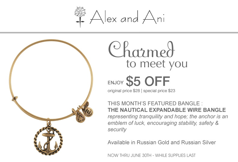 Alex and ani coupon code 2018