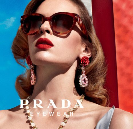 cce4228c70b Prada s exclusive line of sophisticated eyewear for men and women ranges  from sexy cat eyes to ever-chic aviators to traditional Wayfarers.