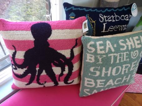 pillow octopus