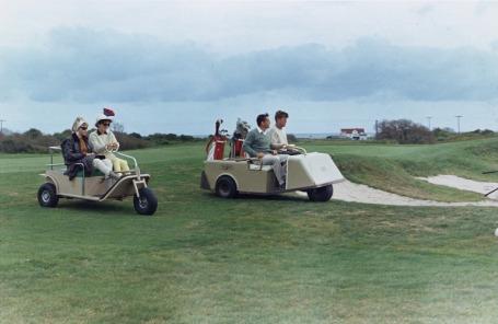 Jackie O_JFK_ golf Newport