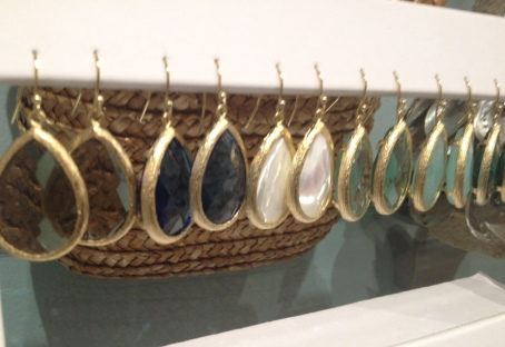 f. teardrop earrings